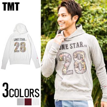 TMT(ティーエムティー)GAZE MINI FRENCH TERRY PULLOVER PARKA (LONE STAR)/全3色