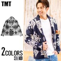 TMT(ティーエムティー)NATIVE JACQUARD KNIT W-BREASTE CARDIGAN/全2色↑01