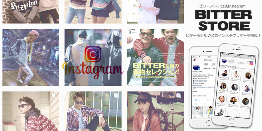 BITTER STORE公式 Instagram