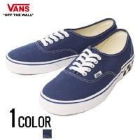 VANS(バンズ)Authentic(Check Block)True Navy/全1色