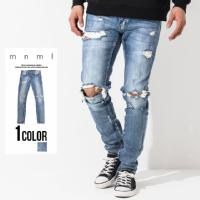 mnml(ミニマル) M1 DENIM STRETCH BLUE/全1色