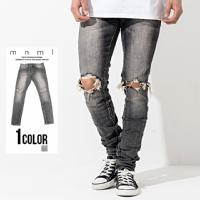 mnml(ミニマル)M1 DENIM STRETCH GREY/全1色