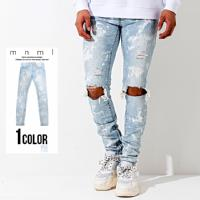 mnml(ミニマル)M55 DENIM STRETCH BLUE/全1色