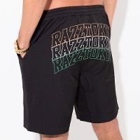 RAZZIS Back logo print shorts / 1color