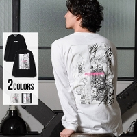 PROJECT SR'ERS×電影少女(プロジェクトエスアールエス×電影少女)THUNDER ACTION LS TEE/全2色